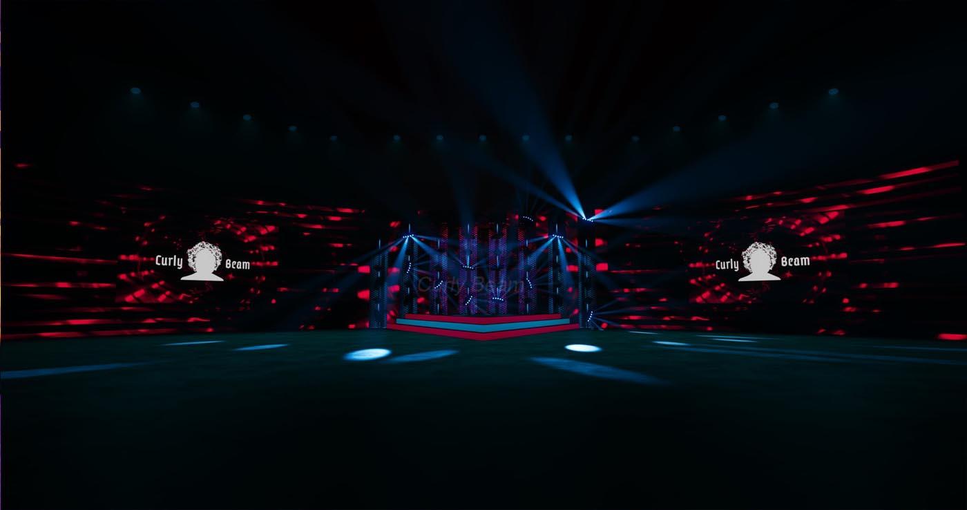 Scenografia Studia 3D - realizacja dla jednego z klientów